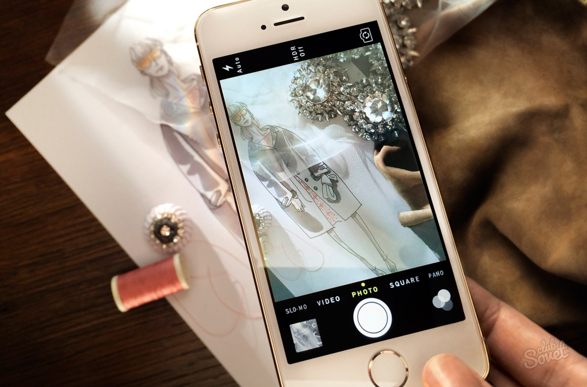Как сделать красивые фотографии на айфон 5s